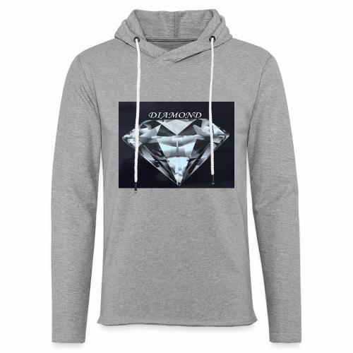 Diamond - Lätt luvtröja unisex