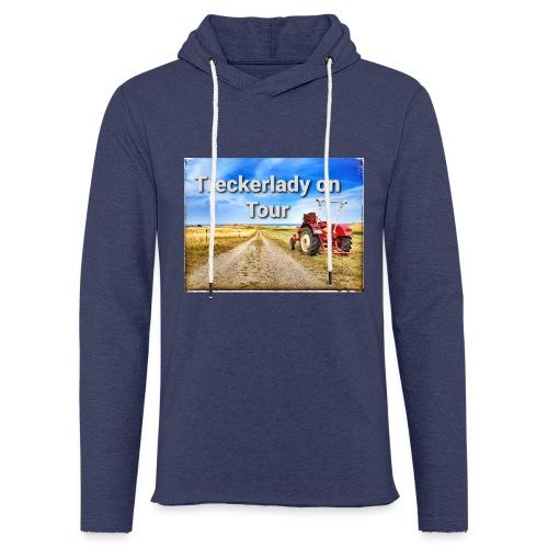 Treckerlady on Tour - Leichtes Kapuzensweatshirt Unisex