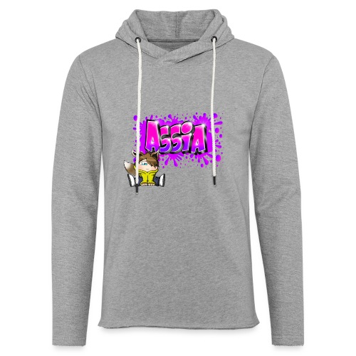 Graffiti ASSIA - Sweat-shirt à capuche léger unisexe