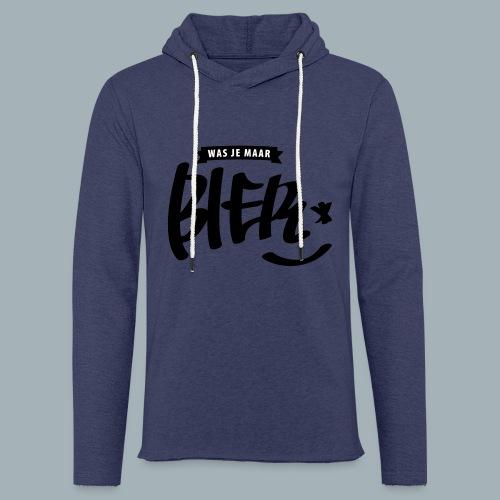Bier Premium T-shirt - Lichte hoodie unisex
