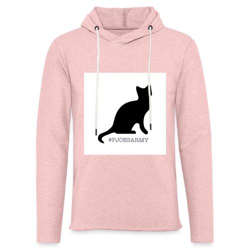 #pjoesarmy met poes - Lichte hoodie unisex