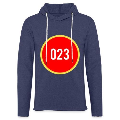 023 logo 2 - Lichte hoodie unisex