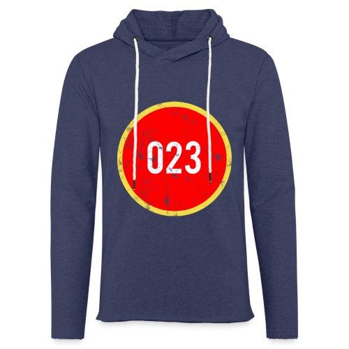 023 logo 2 washed regio Haarlem - Lichte hoodie unisex