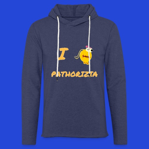 Love Pathorizia - Felpa con cappuccio leggera unisex
