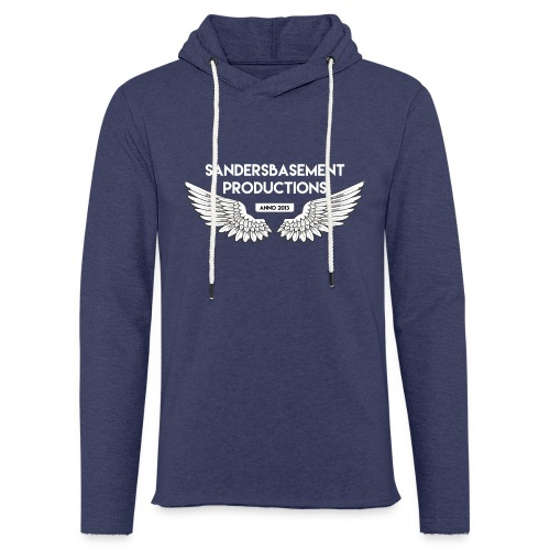 T SHIRT logo wit png png - Lichte hoodie unisex