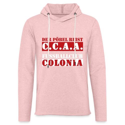 CCAA - Leichtes Kapuzensweatshirt Unisex