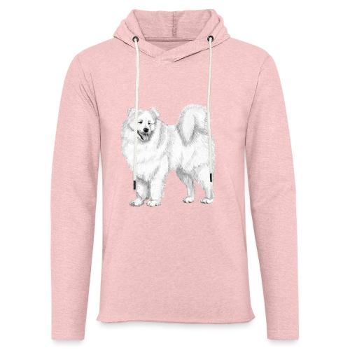 samoyed - Let sweatshirt med hætte, unisex