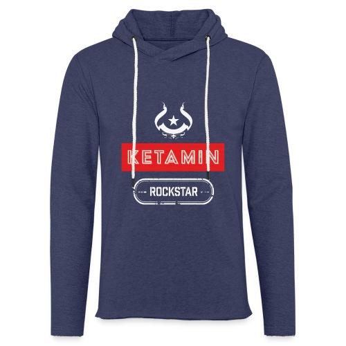 KETAMIN Rock Star - White/Red - Modern - Light Unisex Sweatshirt Hoodie