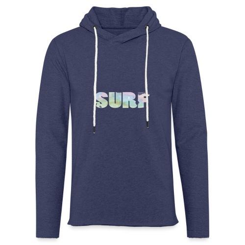 Surf summer beach T-shirt - Light Unisex Sweatshirt Hoodie