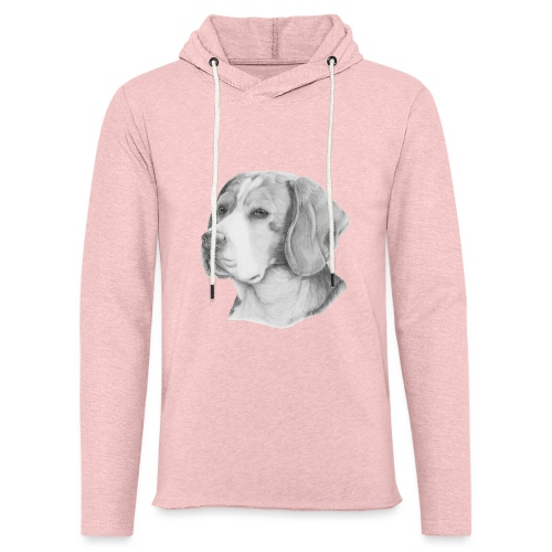 beagle M - Let sweatshirt med hætte, unisex