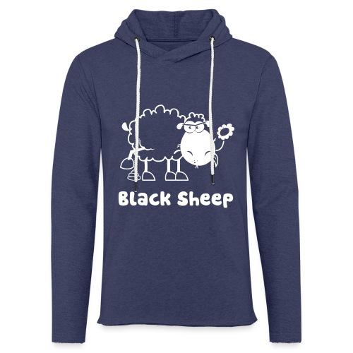 Schwarzes Schaf, Black Sheep - Leichtes Kapuzensweatshirt Unisex