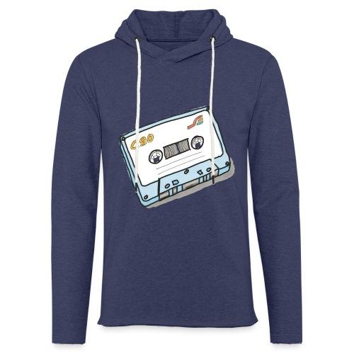 Cassette - Leichtes Kapuzensweatshirt Unisex