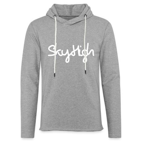 SkyHigh - Men's Premium Hoodie - White Lettering - Light Unisex Sweatshirt Hoodie