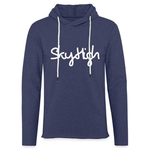 SkyHigh - Snapback - (Printed) White Letters - Light Unisex Sweatshirt Hoodie