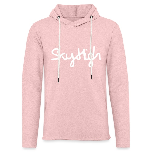 SkyHigh - Snapback - (Printed) White Letters - Light Unisex Sweatshirt Hoodie