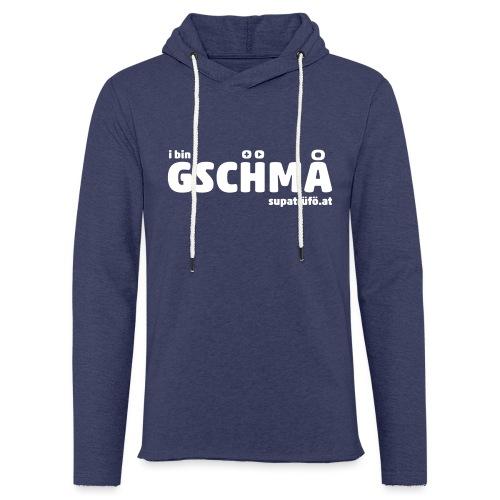supatrüfö GSCHMA - Leichtes Kapuzensweatshirt Unisex