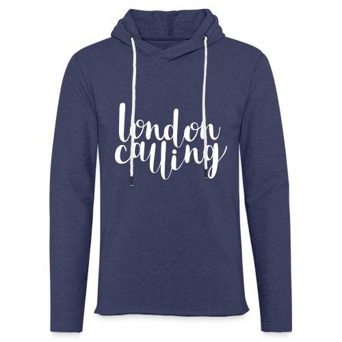 London Calling - Leichtes Kapuzensweatshirt Unisex