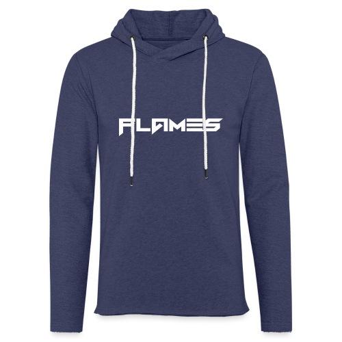 Futuristic Flames Hoodie - Light Unisex Sweatshirt Hoodie
