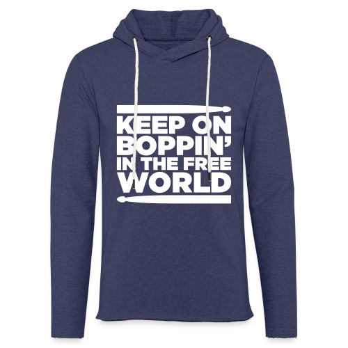 Keep on Boppin' - Light Unisex Sweatshirt Hoodie