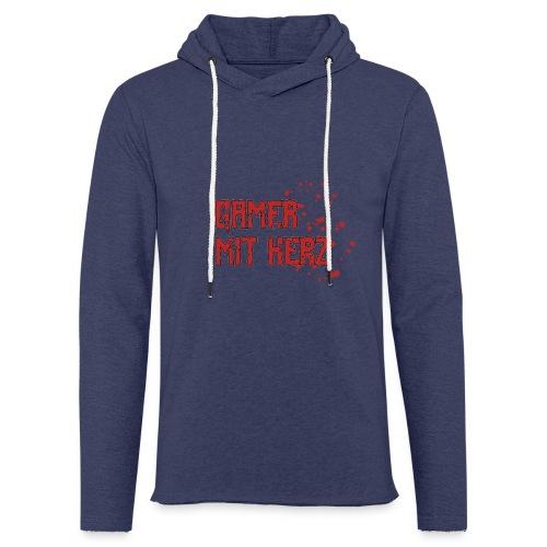 Gamer with heart - Light Unisex Sweatshirt Hoodie