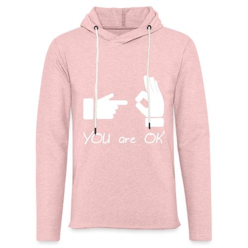 Tu vas bien (sexe, drôle) - Sweat-shirt à capuche léger unisexe