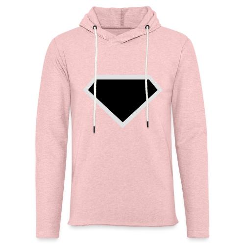Diamond Black - Two colors customizable - Lichte hoodie unisex