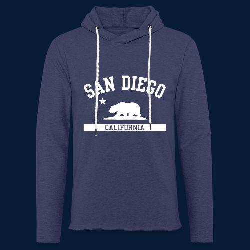 San Diego - Leichtes Kapuzensweatshirt Unisex