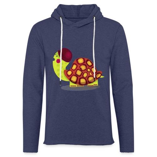 TORTUE - Sweat-shirt à capuche léger unisexe