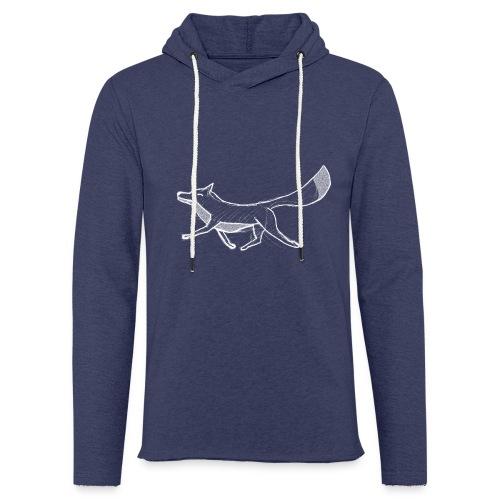 Kreide-Fuchs - Leichtes Kapuzensweatshirt Unisex