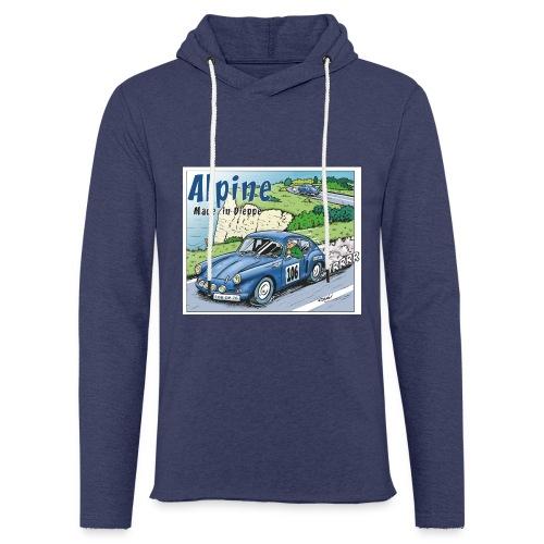 Polete en Alpine 106 - Sweat-shirt à capuche léger unisexe