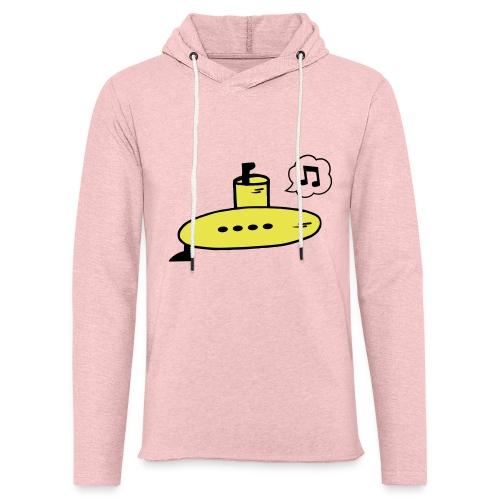 Singing Yellow Submarine - Light Unisex Sweatshirt Hoodie