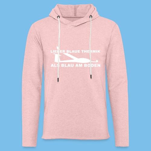 Blauthermik Segelflieger Tshirt Geschenkidee - Leichtes Kapuzensweatshirt Unisex