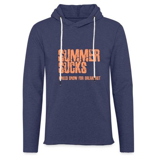 SUMMER SUCKS - Lichte hoodie unisex