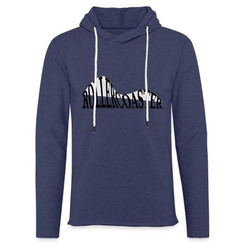 envelope_coaster - Let sweatshirt med hætte, unisex