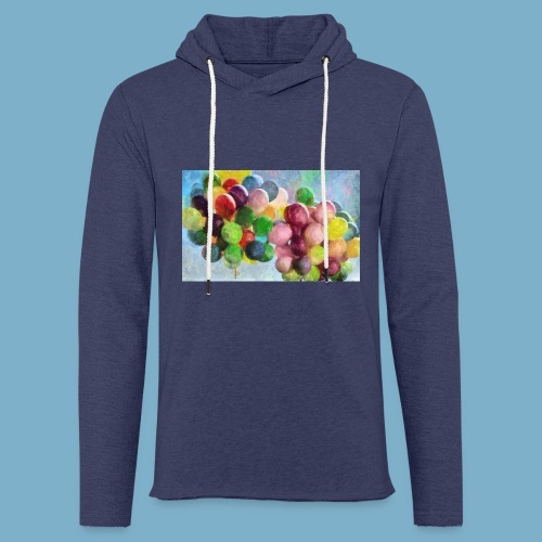 Color balloon - fliegende bunte Ballons - Leichtes Kapuzensweatshirt Unisex