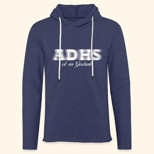 ADHS - Leichtes Kapuzensweatshirt Unisex