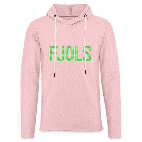 FJOLS Grøn - Let sweatshirt med hætte, unisex
