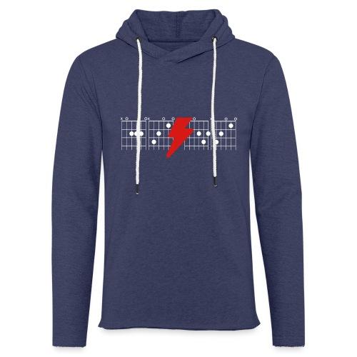 Rock Guitar Shirt - Light Unisex Sweatshirt Hoodie