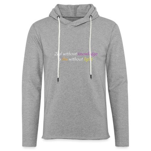 Say with colors - Light Unisex Sweatshirt Hoodie