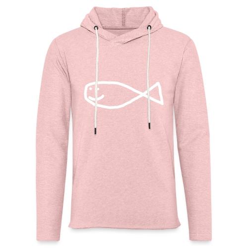 Klassisk Strandfisk T-Shirt - Lett unisex hette-sweatshirt