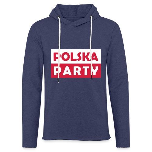 Polska Party / Die Party-Geschenkidee - Leichtes Kapuzensweatshirt Unisex