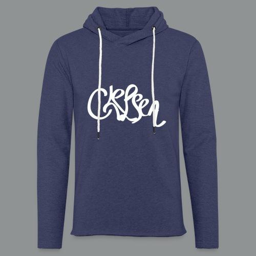 Kinder/ Tiener Shirt Unisex (rug) - Lichte hoodie unisex