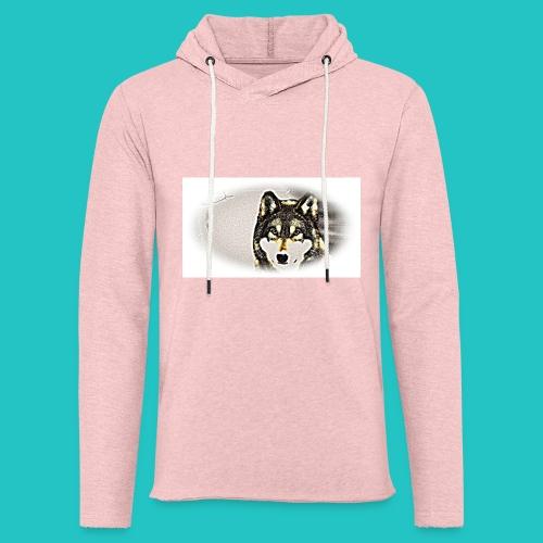 Bluza Wilk - Lekka bluza z kapturem