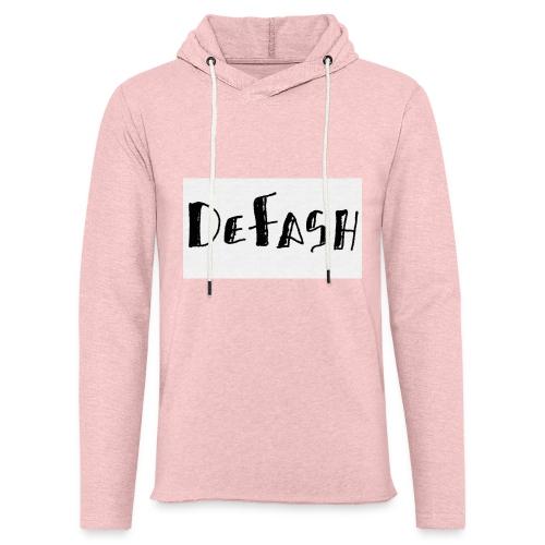 Defash1-png - Sweat-shirt à capuche léger unisexe