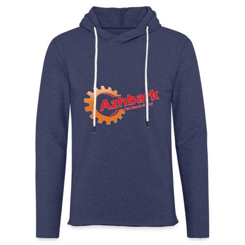 Azhbark Logo - Let sweatshirt med hætte, unisex