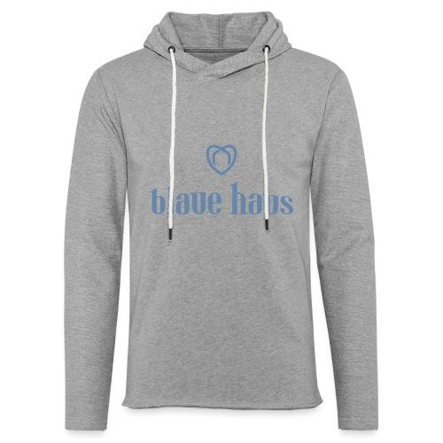 Blaue Haus Logo png - Leichtes Kapuzensweatshirt Unisex