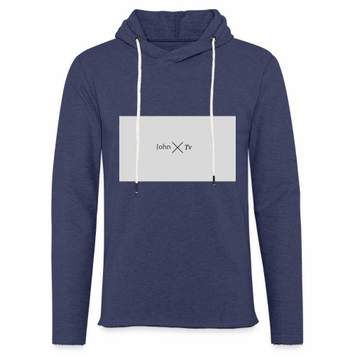 john tv - Light Unisex Sweatshirt Hoodie