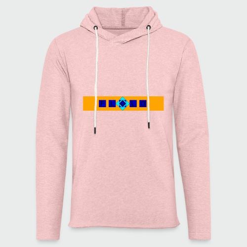 Flolo Schriftzug orange - Leichtes Kapuzensweatshirt Unisex