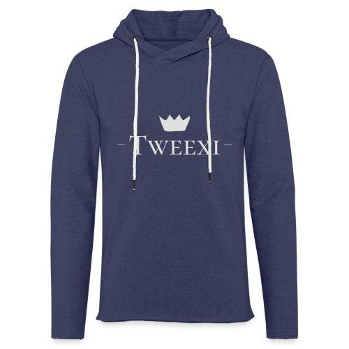 Tweexi logo - Lätt luvtröja unisex