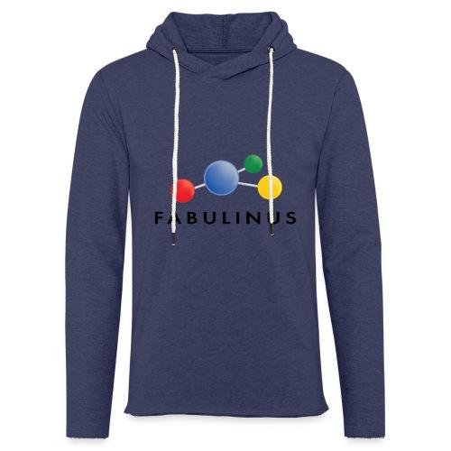 Fabulinus Zwart - Lichte hoodie unisex